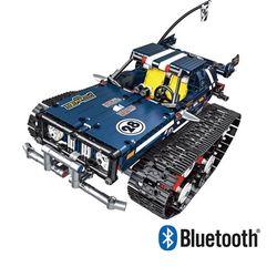 블럭 테크닉 블루투스 맷트랙 트럭 블루 블럭RC 626pcs