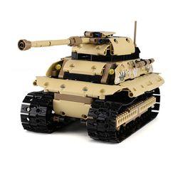 블럭 테크닉 스마트 아머 탱크 블럭RC 495pcs