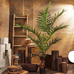 킹 겐자 팜 아레카 야자 인조 조화 나무(180cm)