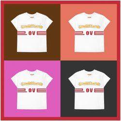 캐리 X 래비티 LOVE 티셔츠