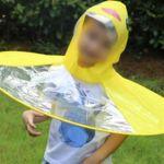 UFO 어린이 유아 여아 남아 아동 우비 우의 우산