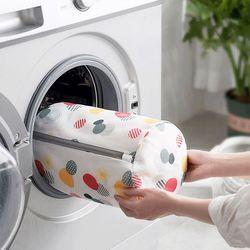 지퍼형 세탁망 원형(대)