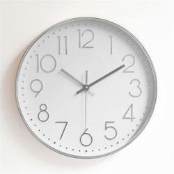 무소음 벽시계 (실버에디션) 거실 사무실벽시계