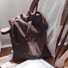 Brown Lienen two way bag