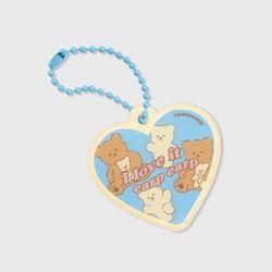 Heart love it nini(PVC키링)