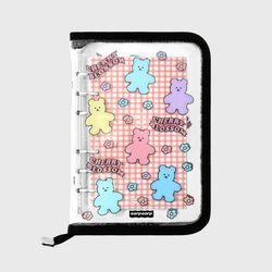 Blossom bear friends-black(6hole diary)