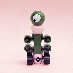 (가베가족) KS2673 마그넷 로봇 새턴