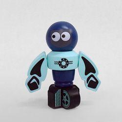 (가베가족) KS2771 마그넷 로봇 머큐리