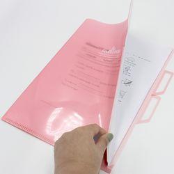비팬시 멜로우 3섹션홀더화일 3포켓 서류보관화일