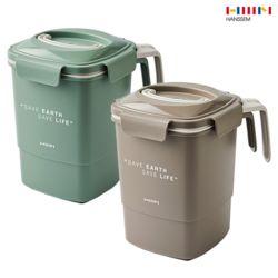 핸디 음식물 쓰레기통 4L (2종/택1) 대용량