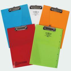 비팬시 클립보드 디자인 퓨어칼라 A4 투명 서류받침대