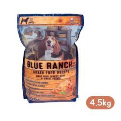블루키친 블루런치 도그 칠면조 앤 고구마 4.5kg강아지 사료