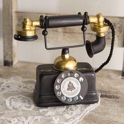 복고 전화기 모형