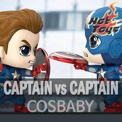 [국내배송/핫토이] 어벤져스4 캡틴아메리카vs캡틴아메리카버블헤드코스베이비
