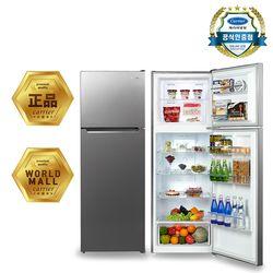 [무상방문설치] 캐리어 클라윈드 2도어 블랙메탈 냉장고(349L) CRF-TN348MDC