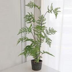 싱그러운 펀 화분(100cm) - 인테리어조화 조화나무