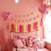 생일 파티 용품 가랜드 테슬세트 핑크