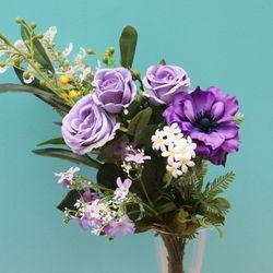 장미 조화 연출 꽃다발 인테리어 장식