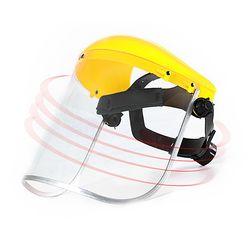 PVC 방진 안면 투명마스크/고글