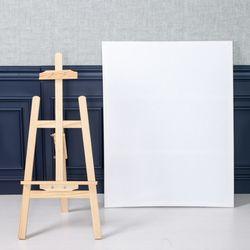 직사각 캔버스 70x90cm+이젤 90cm DIY 장식 FDIYFT