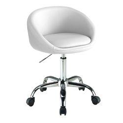 C1102인조가죽 철제 바퀴형 보조 의자
