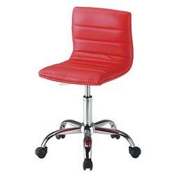 C1104인조가죽 철제 바퀴형 보조 의자