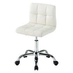 C1106인조가죽 철제 바퀴형 보조 의자