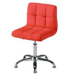 C1107인조가죽 철제 고정형 보조 의자