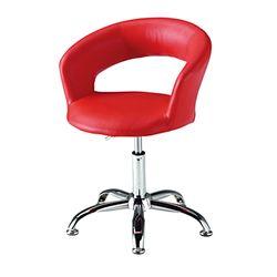 C1110인조가죽 철제 고정형 보조 의자