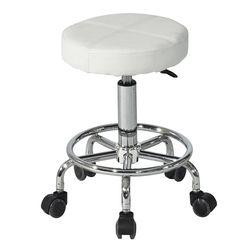 C1112인조가죽 철제 바퀴형 보조 의자
