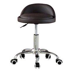 C1114인조가죽 철제 바퀴형 보조 의자
