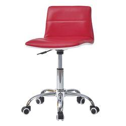 C1116인조가죽 철제 바퀴형 보조 의자