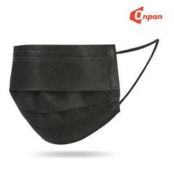 온판 일회용 마스크 MB필터 50매 3중차단 블랙 화이트