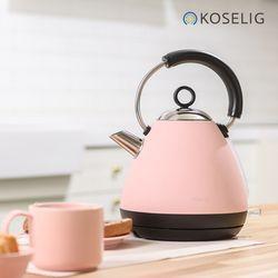 코슬리 컬러풀 전기포트 핑크 KE4095-GS(P)
