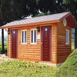 T112나무집형 자연발효식 이동화장실