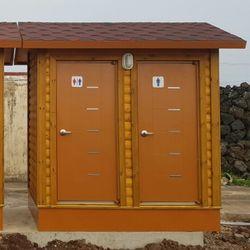 T118나무집형 2조 수거식 이동화장실