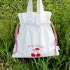 cherry bucket bag