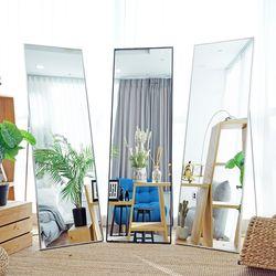 인블룸 벽걸이 받침대 공간맞춤형 모던 전신거울 161x51