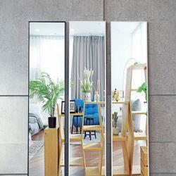 인블룸 벽걸이 받침대 공간맞춤형 모던 전신거울 152x35
