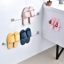 인블룸 벽부착형 심플 실내화정리대 2인용