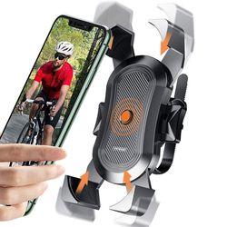 자전거 핸드폰 원터치 1초 탈착 거치대