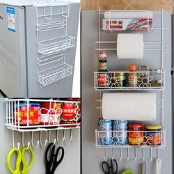 냉장고걸이 수납선반