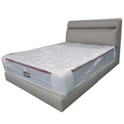 D415PU가죽 퀸Q 침대