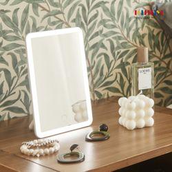 오즈 LED 거울 (스퀘어형) 뷰티등 무드등 각도조절