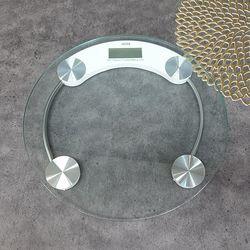 ABM 투명 원형 체중계 33cm