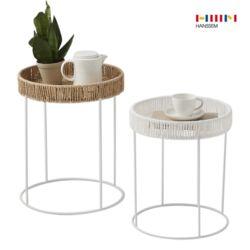 루미에 라탄 원형 테이블 (2종 택1)