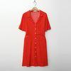 Cara Button Shirts Dress