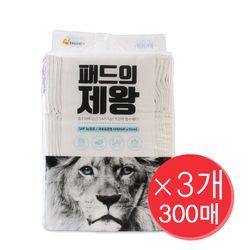 패드의제왕 고흡수 강아지 패변패드 SAP 3g 100매x3개 (300매)