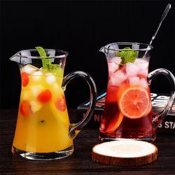 홈카페유리컵 주전자 비커컵 칵테일잔 에이드잔