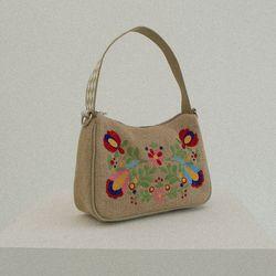 Summer lady hobo bag